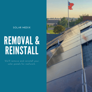 Removal and Reinstall Solar Panel